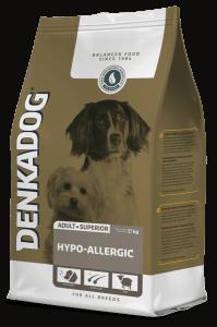 Denkadog voor honden met een voedselallergie