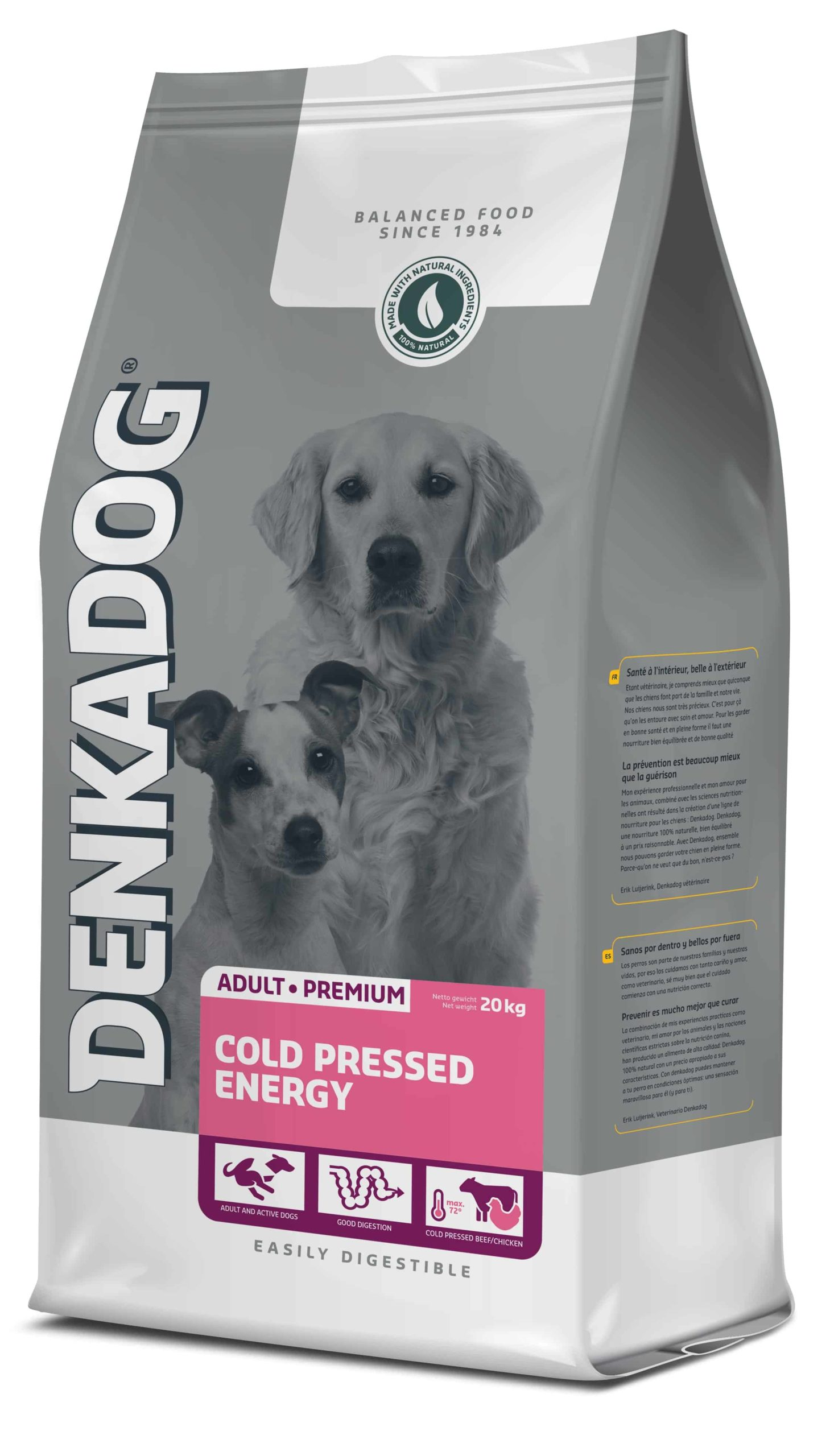 Denkadog Cold Pressed Energy