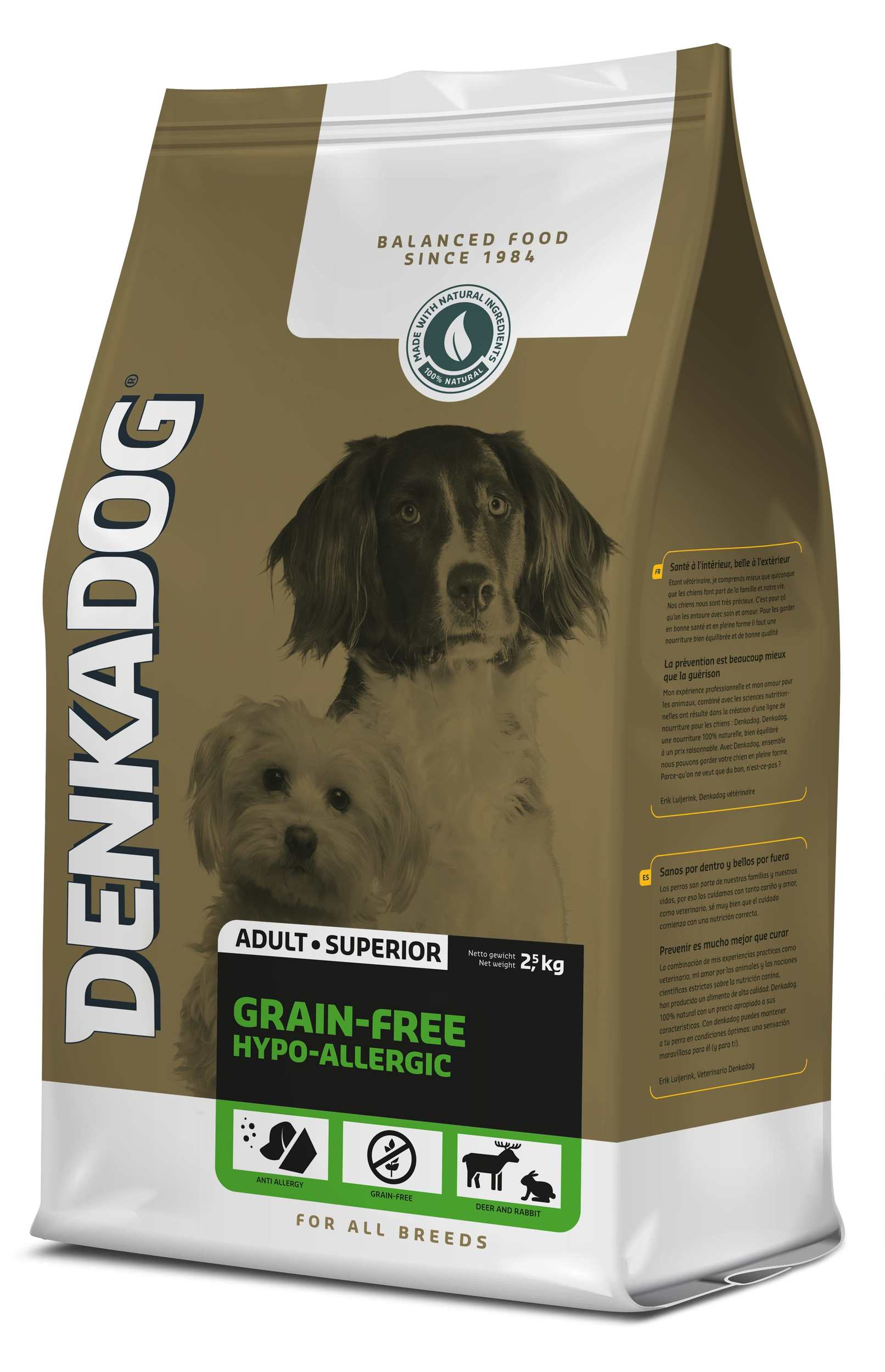 Denkadog Grain-Free Hypo-Allergic